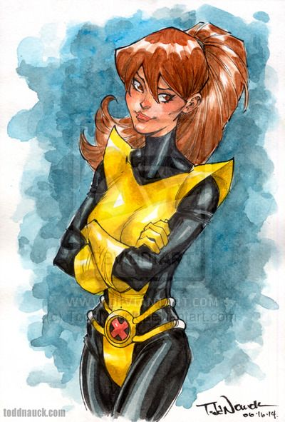 Kitty Pryde by Todd Nauck