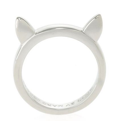 Marc by Marc Jacobs Cat Ears Ring WANT!