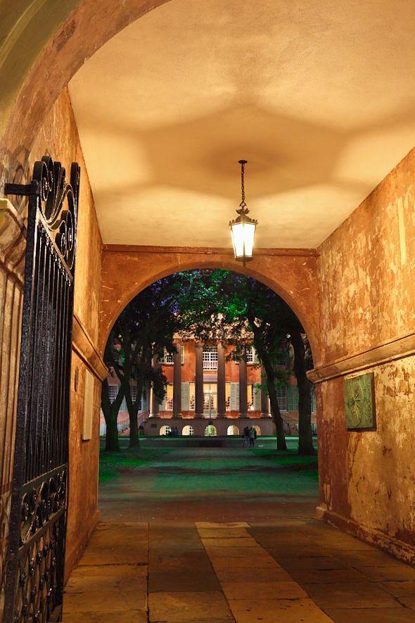 ...♥♥  Porter's Lodge, College of Charleston, SC