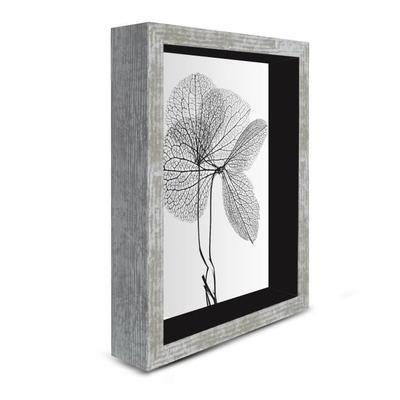 Tableau déco cadre vitrine 18x24 - Feuilles séchées tilleul - Achat / Vente tableau - toile - Cdiscount