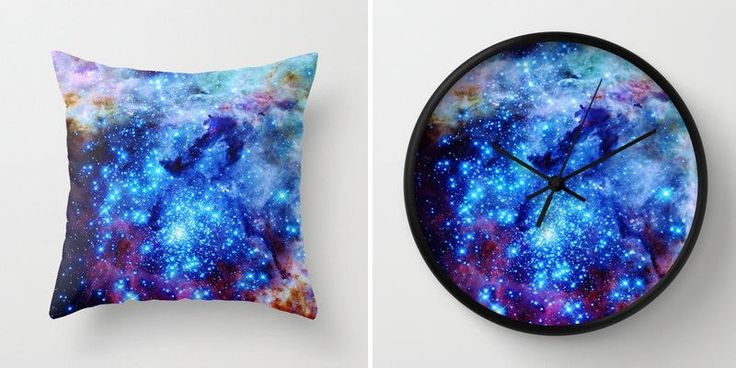 Galaxy decor from Etsy shop 2 Sweet 4 Words Under the Milky Way: Galaxy and Moon Phase Decor