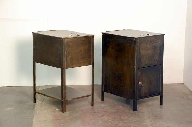 Industrial night stands  Home furniture  Pinterest