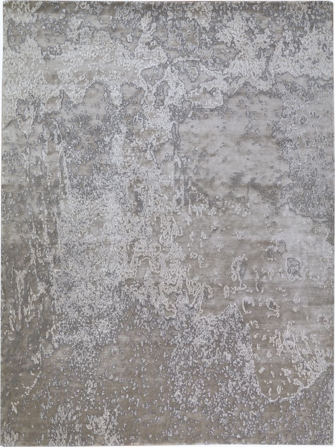 Carini Lang - New rug collection - Aquarium silver - Shown in 9' x 12'