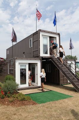69 best shipping container homes images on pinterest for Modern prefab homes mn