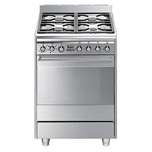 Buy Smeg SUK61MX8 Concert 60cm Dual Fuel Cooker - Stainless Steel from Debenhams Plus. We offer free delivery and a price match guarantee. Order online or call for free advice.