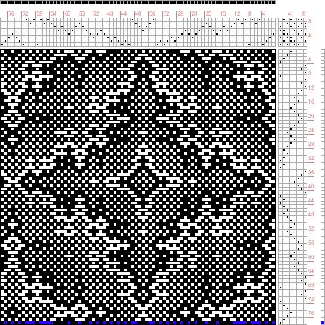 Hand Weaving Draft: snakeskin, Draft 45548 Corrected, 8S, 8T - Handweaving.net Hand Weaving and Draft Archive
