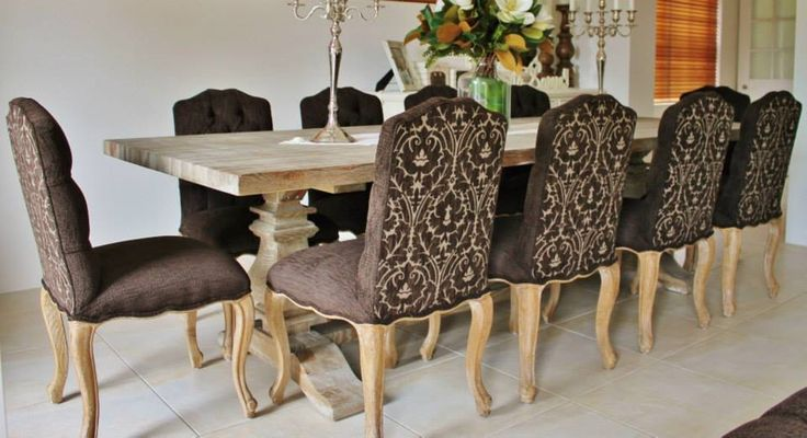 Classic Furnishings Australia Interior Design featuring our Amelia dining chairs