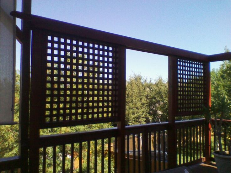 Deck Privacy Wall Privacy Screens Privacy Walls