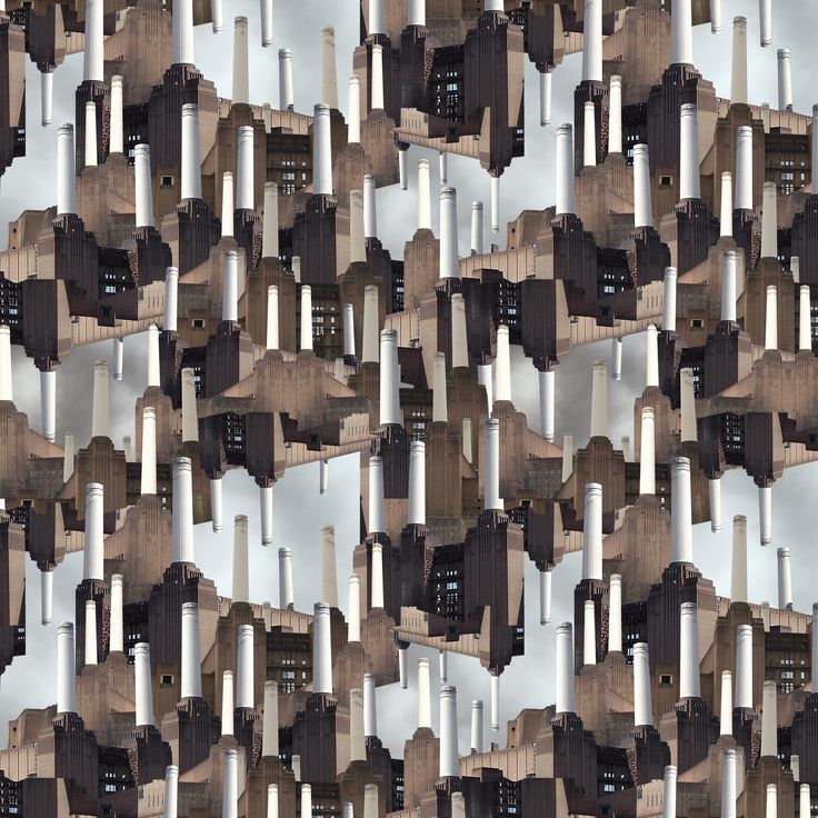 """The pattern is an interpretation of """"Animals"""" which is the best album made by Pink Floyd - Anna La Corte"""