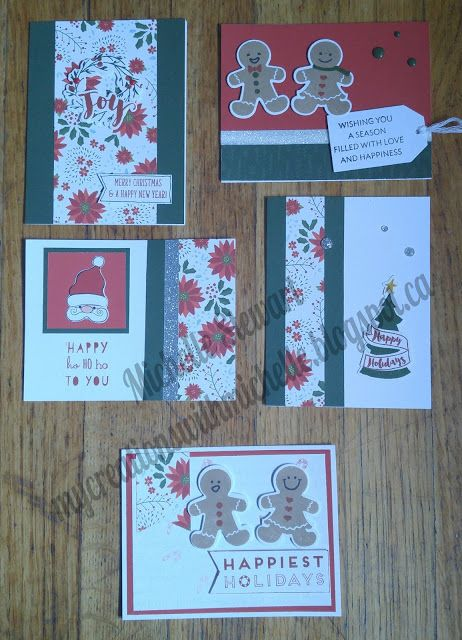 Creations With Michelle, CTMH Beary Christmas 1 Sheet Wonder Workshop, creates 20 cards