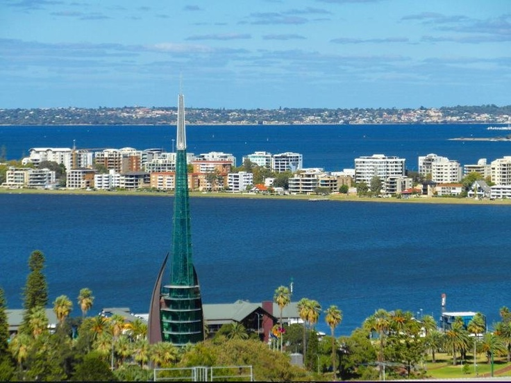 The Belltower, Swan River, and South Perth Apartments, Perth Western Australia