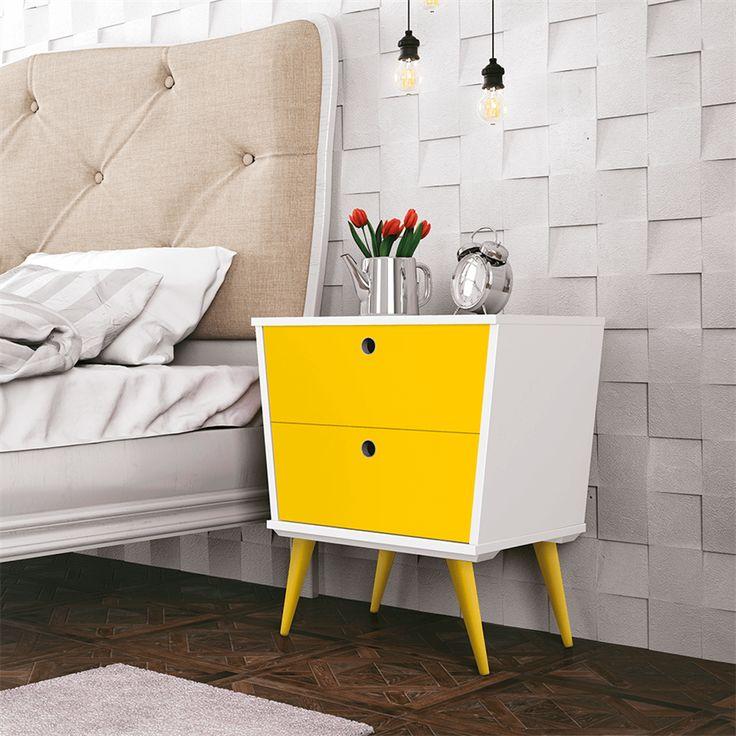 Se está em busca de mudar seu quarto para dar um ar mais retrô, a o Criado-mudo Alice é uma excelente pedida, pois agrega o que há de melhor no estilo retrô, dando charme, sofisticação, beleza e delicadeza ao seu quarto.