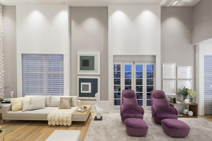 Projeto Suíte Luxo, da arquiteta Andrea Magalhães. Foto: Inês Antich