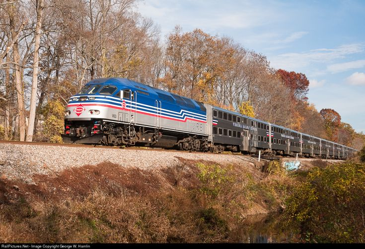 RailPictures.Net Photo: VRE V63 Virginia Rail Express (VRE) MPI MP36PH-3C at Burke, Virginia by George W. Hamlin
