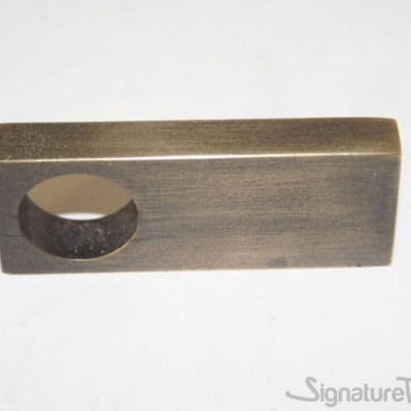 Rectangular Single Hole Finger Cabinet Pull Finger Pull Rectangular Desk With Drawers