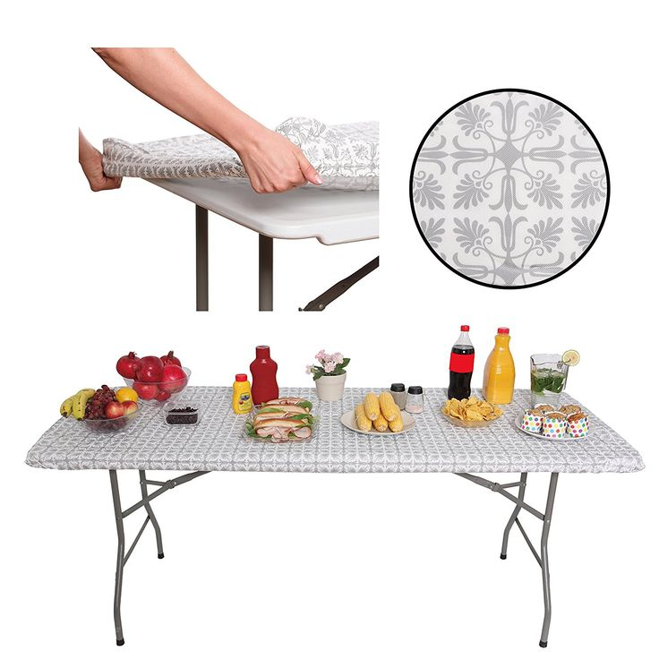Tablecloth For 6ft Folding Table, What Size Tablecloth Do I Need For A 30 X 72 Table