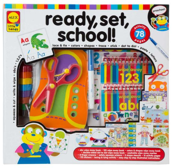 Get the Alex Toys Little Hands Ready, Set, School Set for just $16.94 right now on Amazon!