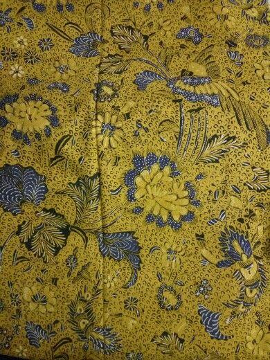 Batik udang buketan /shrimp bouqet batik origin semarang north java,color unique,year 1950.
