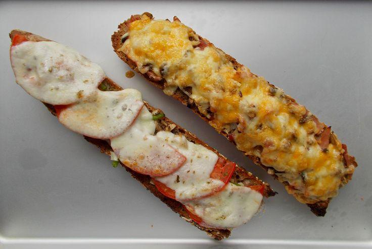 Ανοιχτό σάντουιτς – zapiekanki  (Πολωνία) | Food Collection
