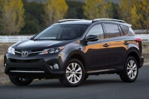 2013 Toyota RAV4 Limited 4dr SUV Exterior can you seat 3 in the back?