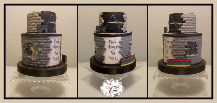Pink Floyd passion for a birthday cake