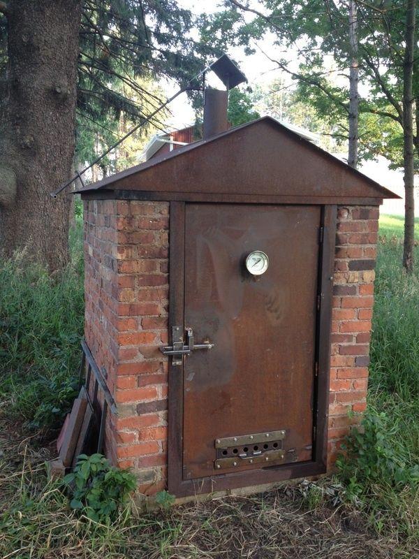 Old farmhouse smoker -cool!