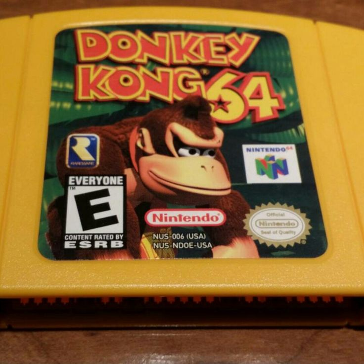 Donkey Kong 64 - #dk64 #retrogaming #n64 #nintendo #etsy #expansionpak #64bit