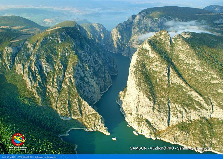 Şahinkaya Canyon, Vezirköprü, Samsun - Turkey