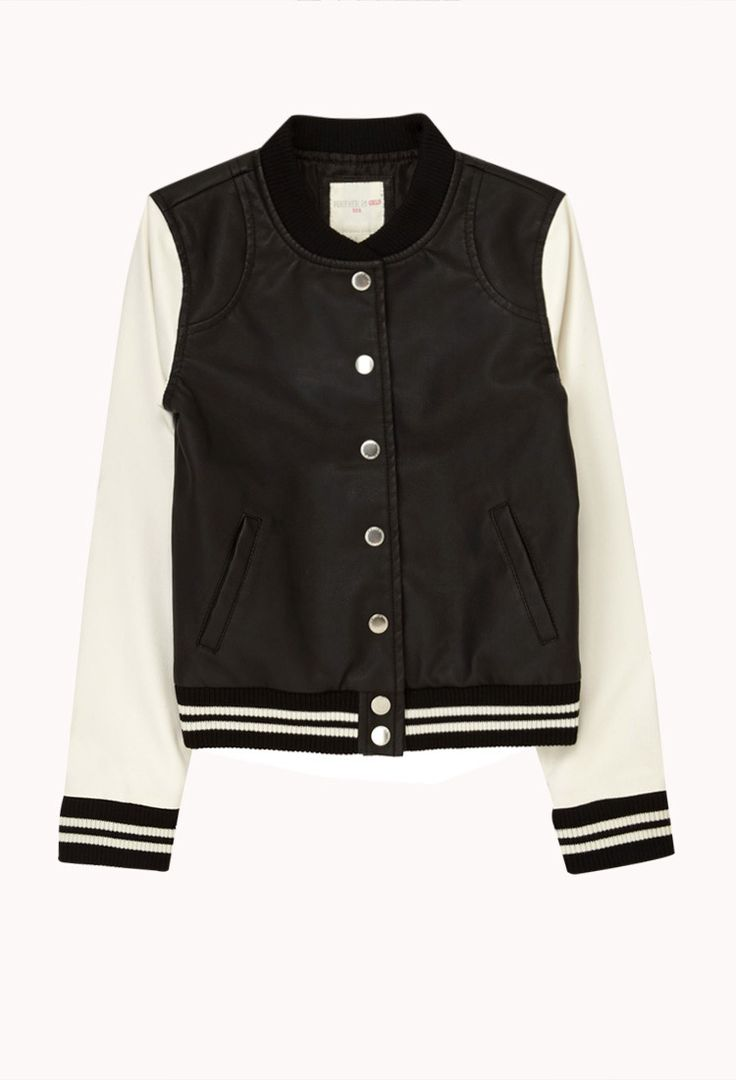 The 25+ best Leather varsity jackets ideas on Pinterest ...