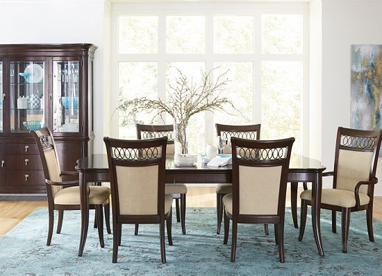 Dining rooms astor park china cabinet dining rooms for Formal dining room sets with china cabinet