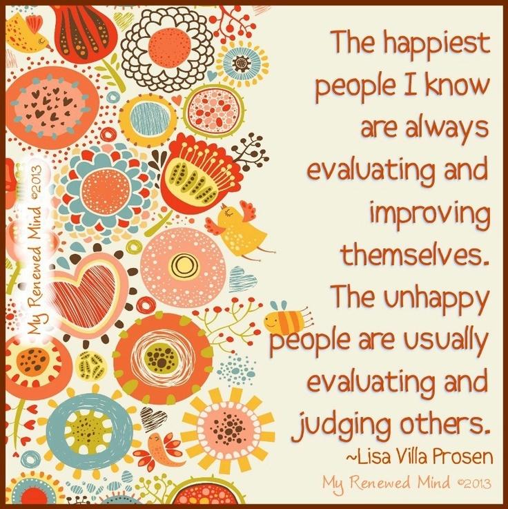 Happiest people quote via My Renewed Mind on Facebook