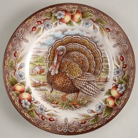 victorian english pottery royal thanksgiving multicolor at replacements ltd - Thanksgiving China Patterns