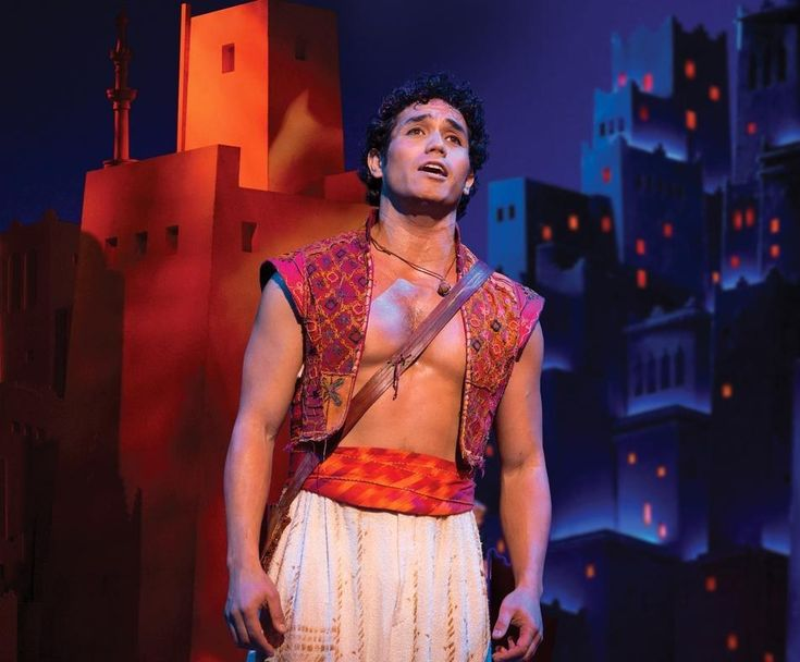 8. Hottest Disney Character Brought to Life: Adam Jacobs (Aladdin in Aladdin)