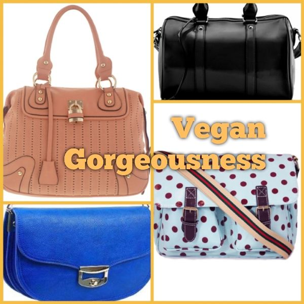 Vegan handbags on www.missbeaubangles.co.uk/blog