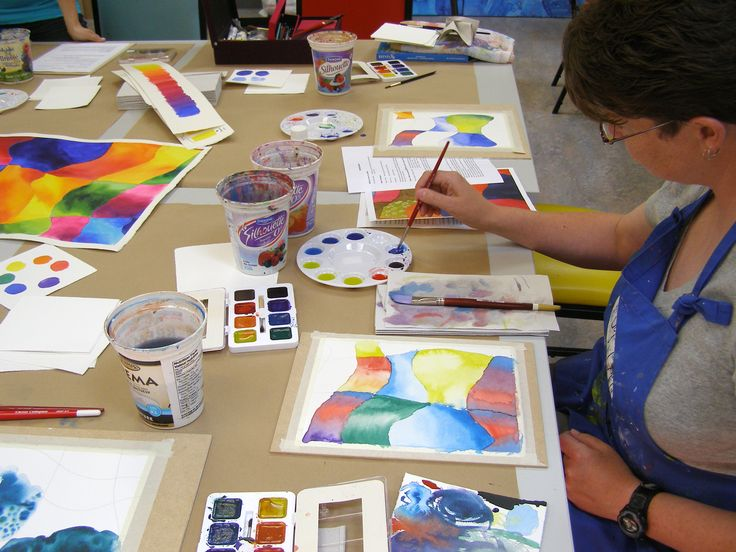 Watercolor workshop with Brittney Lintick