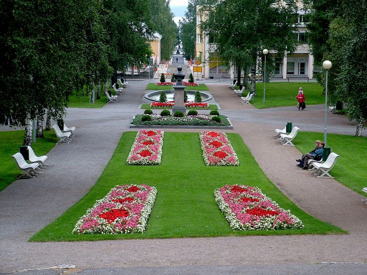 View from Kuopio Cathedral steps