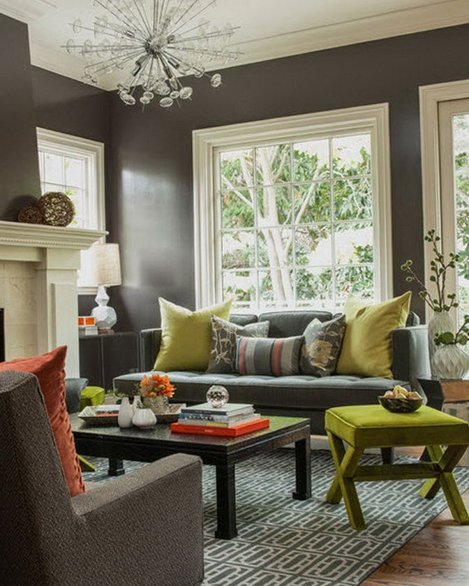 Grey And Dark Green Living Room 32 best deep wall colours - piano room images on pinterest