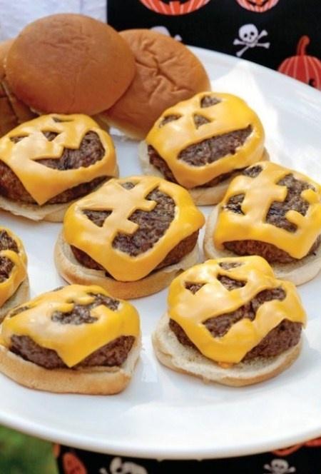 Halloween Cheesburgers...