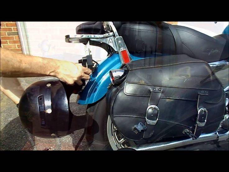 Clever Dual Motorcycle Helmet Lock - Review