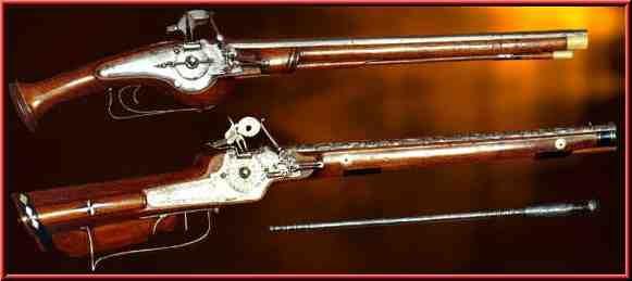 Husaria - broń palna