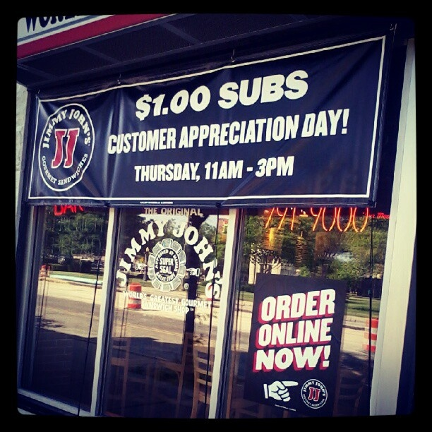 A dolla !: Stores Open, Jimmy John, Understanding Jimmy, People Call, Muh Work, Favorite Food