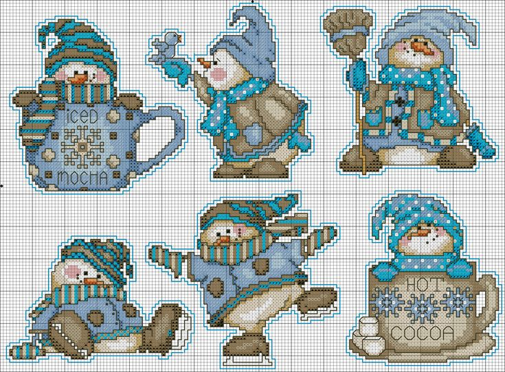 coffee Snowmen