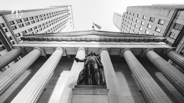 Federal Hall & George Washington