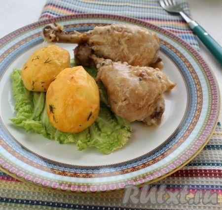 Рецепт курицы с чесноком по-испански
