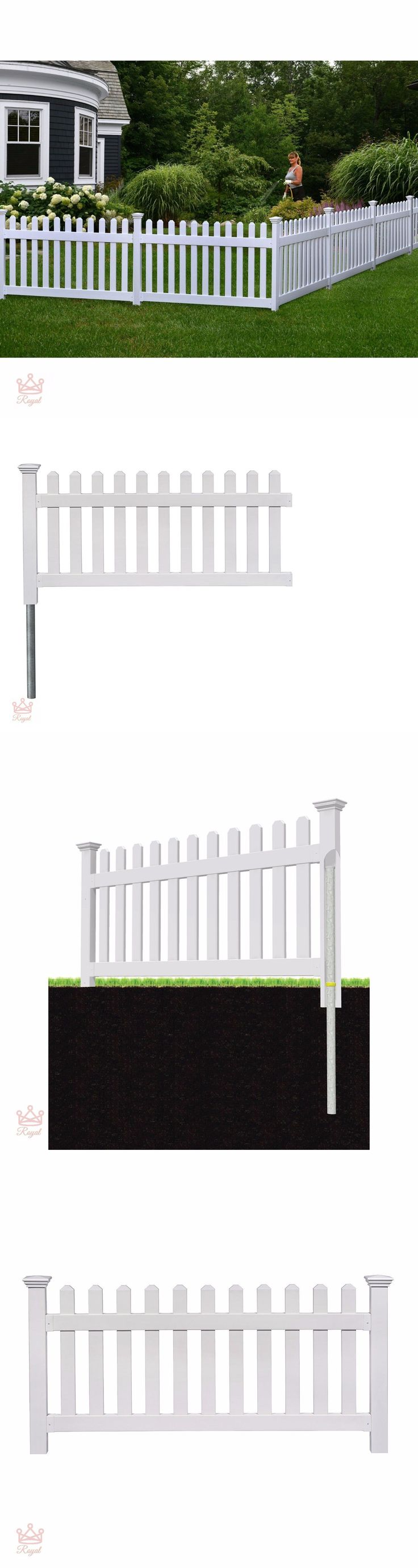 As 166 melhores imagens em fence pickets 180986 no pinterest fence pickets 180986 portable dog fence outdoor pet white vinyl gate no dig corner picket baanklon Images
