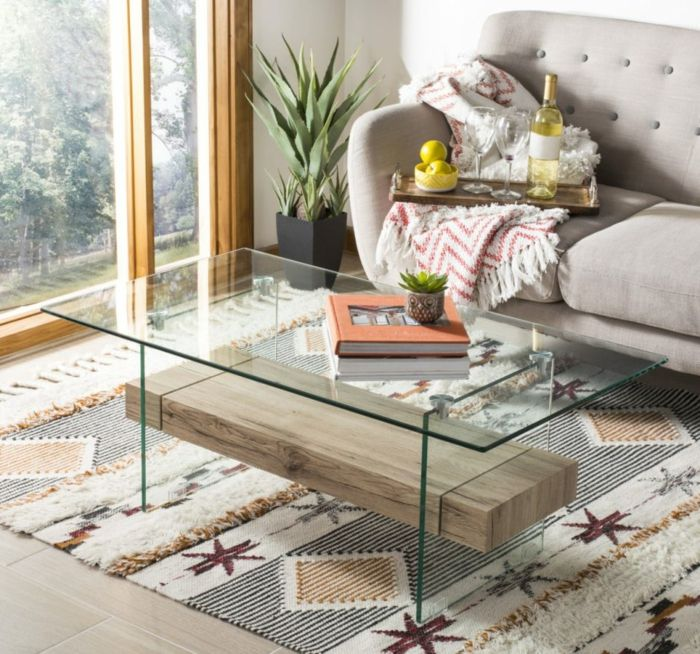 1001 Idees De Deco Table Basse Reussie Ou Comment Decorer La Table De Salon Table Basse Fer Table Basse Table Basse Bois