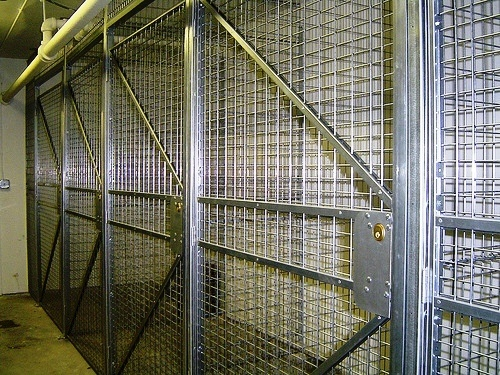 17 Best Images About Security Cages Amp Tenant Storage