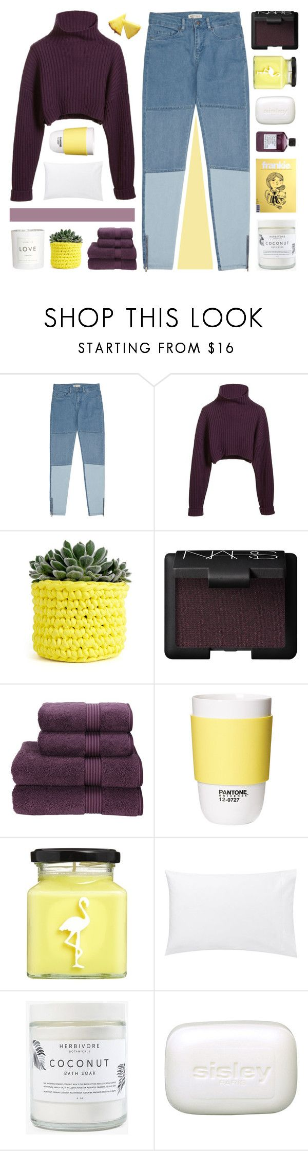 """""""– lord, save me, my drug is my baby"""" by neutral-bunny ❤ liked on Polyvore featuring Reiss, GUESS by Marciano, Wool and the Gang, NARS Cosmetics, Christy, Not Soap, Radio, ROOM COPENHAGEN, Flamingo Candles, Jigsaw and Herbivore"""