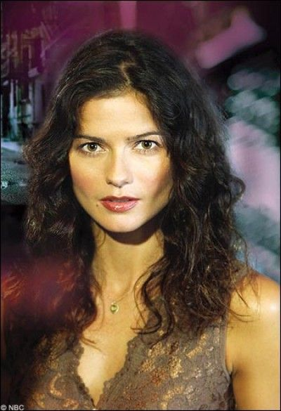 Jill Hennessy. I really miss Crossing Jordan.