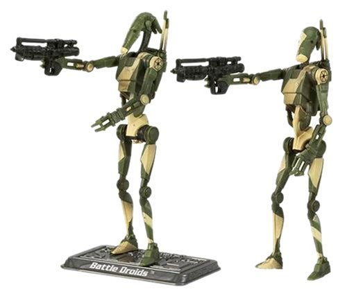 Star Wars  The Saga Collection  Basic Figure Battle Droid  2 Pack >>> More info could be found at the image url.Note:It is affiliate link to Amazon.